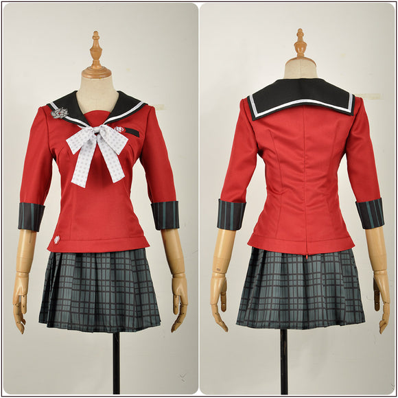 Harukawa Maki Costume Game Danganronpa V3: Killing Harmony Cosplay for Halloween Carnival Convention