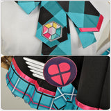 Hatsune Miku Costume Fancy Dress Vocaloid Magic Future Concert Cosplay for Halloween Carnival Convention