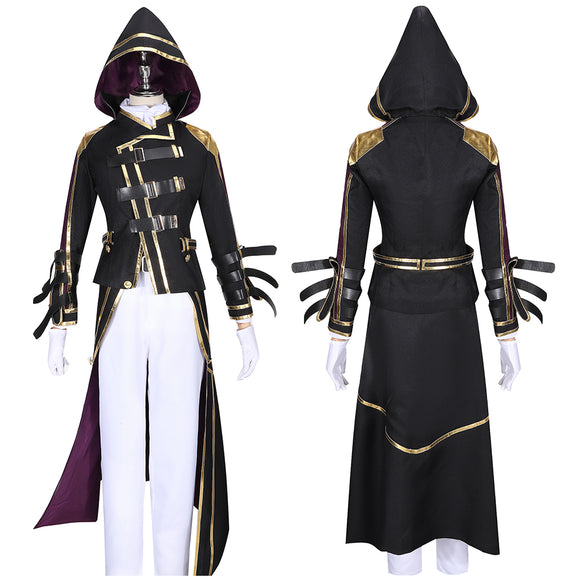 Hermit C Costume Game The Legend of Heroes: Hajimari No Kiseki Cosplay for Halloween Carnival Convention