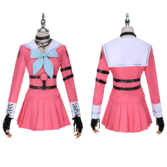 Iruma Miu Costume Game Danganronpa V3: Killing Harmony Cosplay for Halloween Carnival Convention
