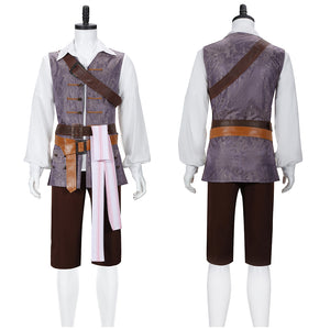 Jack Sparrow Costume Movie Pirates of the Caribbean Cosplay for Halloween Carnival Convention