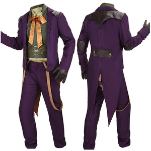 Joker Costume Battle Christmas Outfit Game Injustice: God Among Us Cosplay for Halloween Carnival Convention