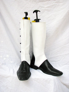 Joker Shoes Boots Anime Black Butler Cosplay for Halloween Carnival Convention
