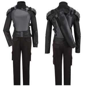Katniss Everdeen Costume Movie The Hunger Games: Part 2 Cosplay for Halloween Carnival Convention
