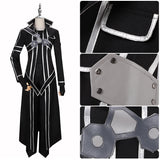 Kirigaya Kazuto Costume Anime Sword Art Online Cosplay for Halloween Carnival Convention