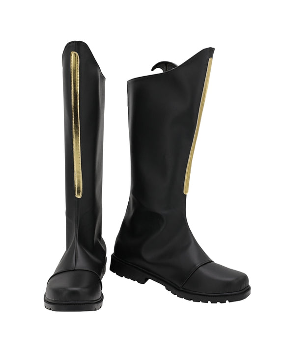 Kujo Jotaro Star Platinum Shoes Boots JoJo's Bizarre Adventure Cosplay for Halloween Carnival