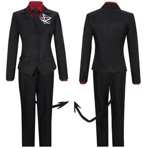 Luciter The Ceo of Hell Costume Game Helltaker Cosplay for Halloween Carnival Convention