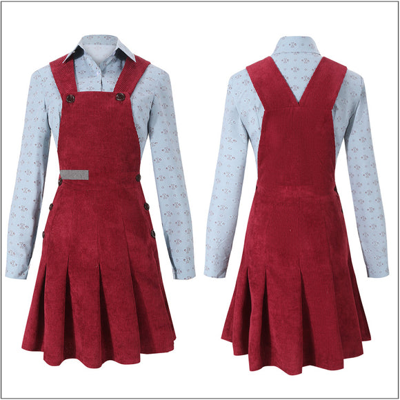 Lyra Belacqua Costume TV Series Dark Materials Season 1 Cosplay for Halloween Carnival Convention