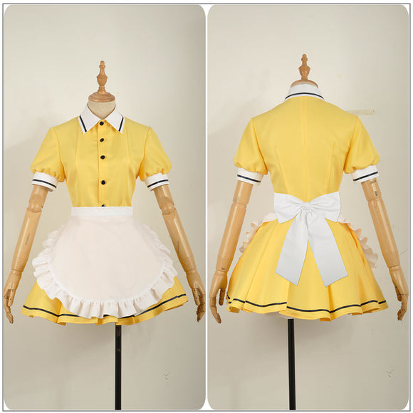 Mafuyu Hoshikawa Maid Costume Anime Blend S Burendo Esu Cosplay for Halloween Carnival Convention