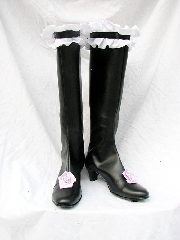 Mercury Lamp Shoes Boots Anime Rozen Maiden Cosplay for Halloween Carnival Convention