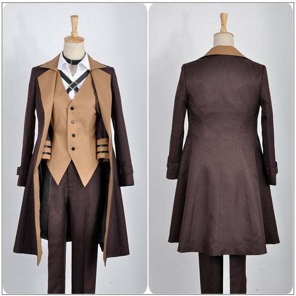 Nakahara Chuya Costume Anime Bungo Stray Dogs Cosplay for Halloween Carnival Convention