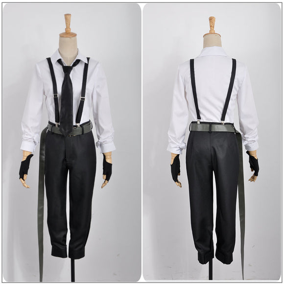 Nakajima Atsushi Costume Anime Bungo Stray Dogs Cosplay for Halloween Carnival Convention