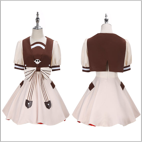 Nene Yashiro Costume Anime Toilet-Bound Hanako-kun Cosplay for Halloween Carnival Convention