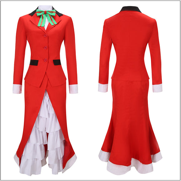 Nightingale Costume Christmas Outfit Game FGO Fate/Grand Order Cosplay for Halloween Carnival Convention