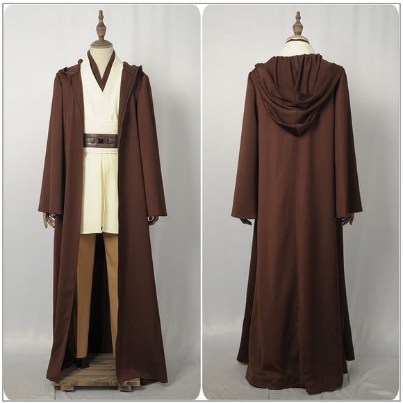Obi-Wan Kenobi Costume Battleframe Movie Solo: A Star Wars Story Cosplay for Halloween Carnival Convention