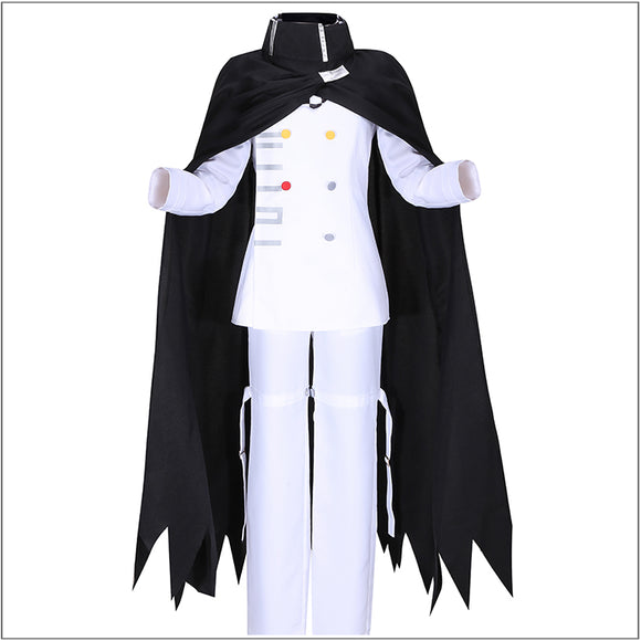 Ouma Kokichi Costume Full Set With Cloak Game Danganronpa V3: Killing Harmony Cosplay for Halloween Carnival Convention