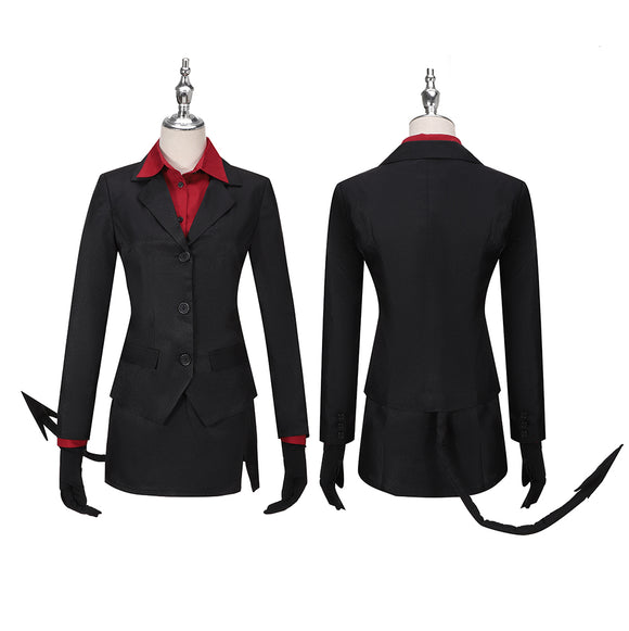 Pandemonica the Tired Demon Costume Game Helltaker Cosplay for Halloween Carnival Convention