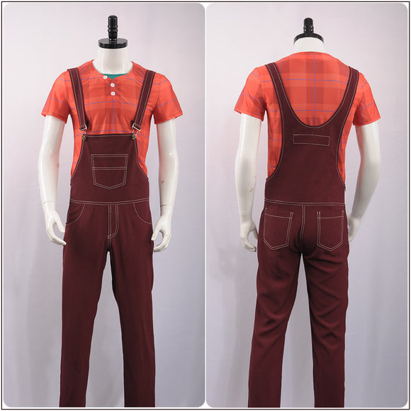 Ralph Costume Movie Wreck-It Ralph 2 Cosplay for Halloween Carnival Convention