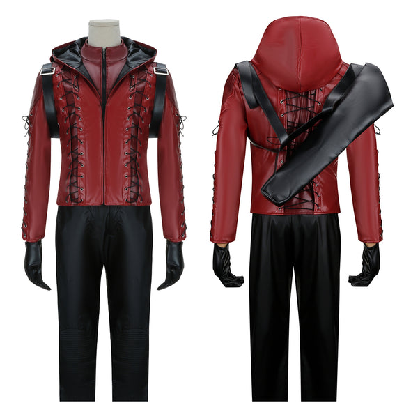 Red Arrow Arsenal Roy Harper Costume Battleframe TV Series Arrow Season 3 Cosplay for Halloween Carnival Convention