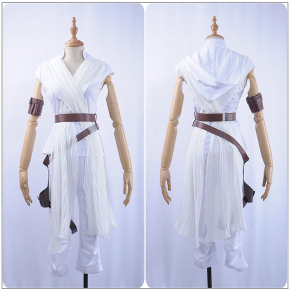 Rey Costume Battleframe Movie Star Wars: The Rise of Skywalker Cosplay for Halloween Carnival Convention