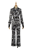 Riou Mason Busujima Costume Camouflage Suit Game Hypnosis Mic Division Rap Battle Cosplay for Halloween Carnival Convention