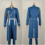 Roy Mustang Army Costume Anime FullMetal Alchemist Cosplay for Halloween Carnival Convention