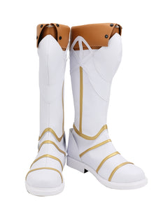 Sir Gareth Shoes Boots Game FGO Fate/Grand Order Cosplay for Halloween Carnival