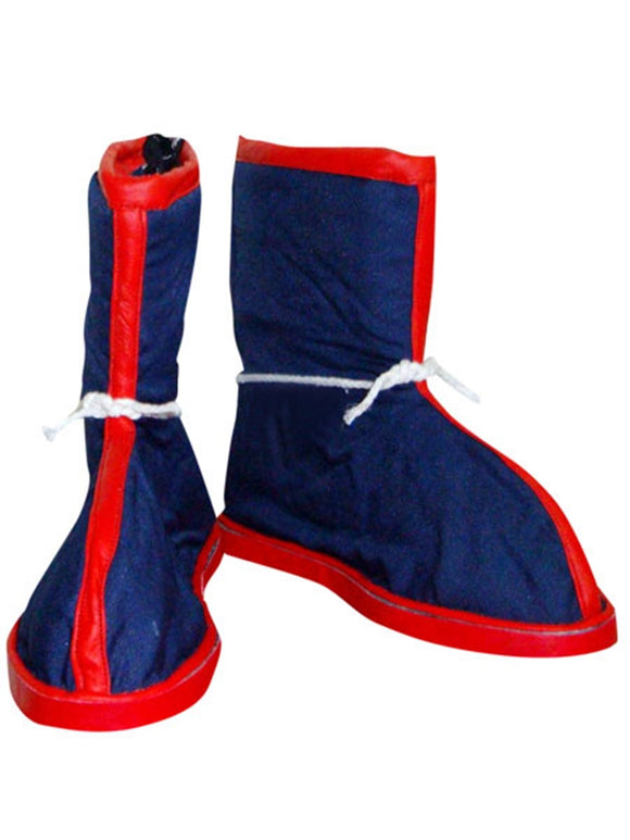 Son Goku Kakarotto Shoes Boots Anime Dragon Ball Cosplay for Halloween Carnival Convention Version A