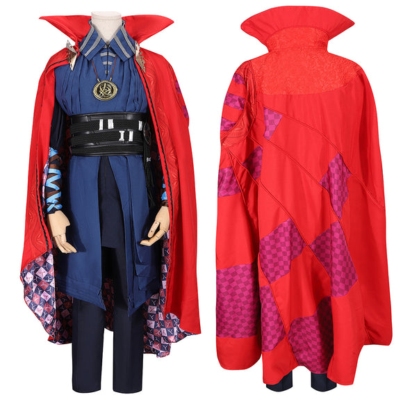 Stephen Strange Dr. Strange Costume Movie Doctor Strange Cosplay for Halloween Carnival Convention