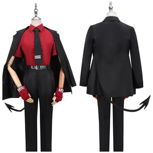 The Awesome Demon Justice Costume Game Helltaker Cosplay for Halloween Carnival Convention