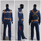 The Winter Soldier Steve Rogers Costume Movie Captain America 2 Cosplay for Halloween Carnival Convention
