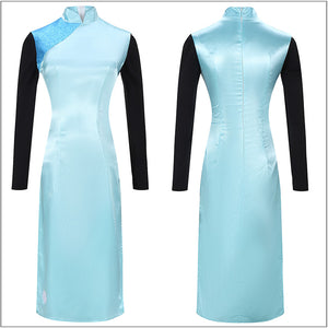 Thirteen Ms 13 Cheongsam Cosplay Costume Anime Scissor Seven Cosplay for Halloween Carnival Convention