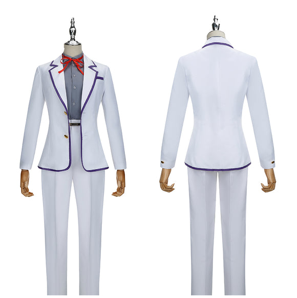 Towa Costume White Outfit Anime Yashahime: Princess Half Demon Cosplay for Halloween Carnival Convention