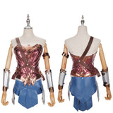 Wonder Woman Costume Classic Version Movie Batman v Superman : Dawn of Justice Cosplay for Halloween Carnival Convention