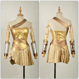 Wonder Woman Costume Golden Dress Movie Batman v Superman : Dawn of Justice Cosplay for Halloween Carnival Convention