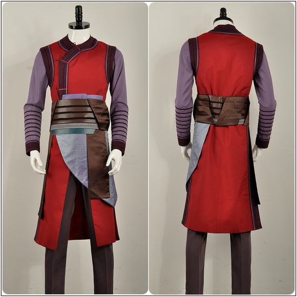 Wong Costume Movie Doctor Strange 2 Cosplay for Halloween Carnival Convention