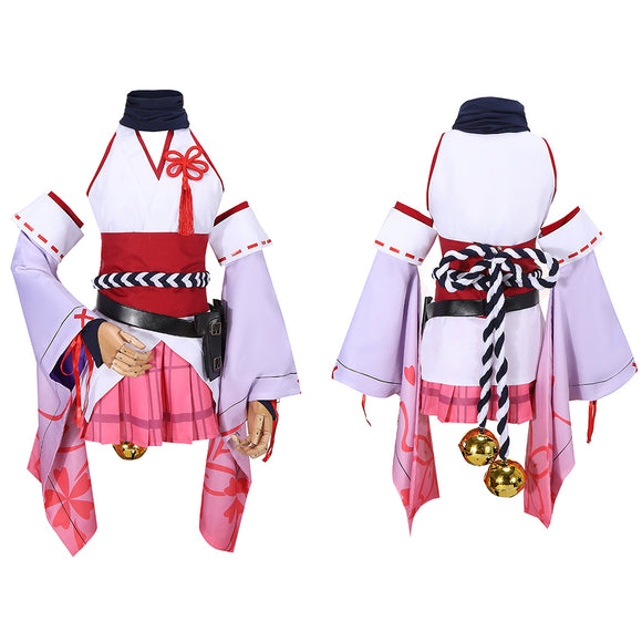 Yae Sakura Kimono Costume Game Honkai Impact 3 Cosplay for Halloween Carnival Convention