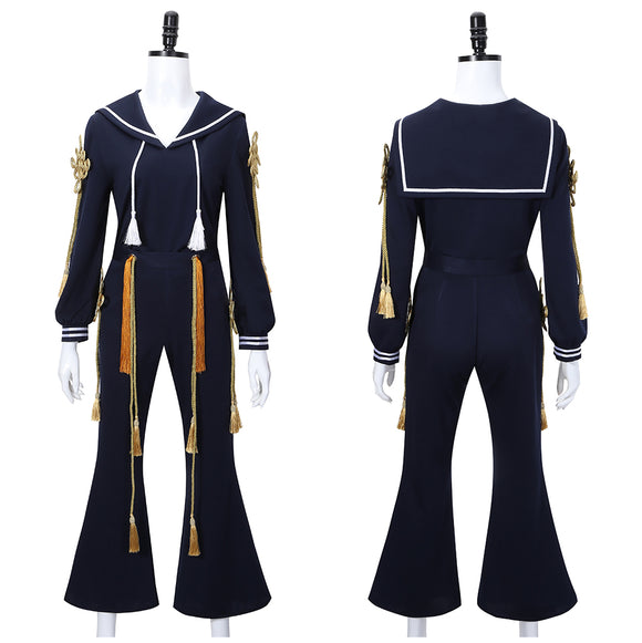 Yumeno Gentaro Costume Navy Uniform Game Hypnosis Mic Division Rap Battle Cosplay for Halloween Carnival Convention