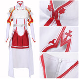 Yuuki Asuna Costume Anime Sword Art Online Cosplay for Halloween Carnival Convention
