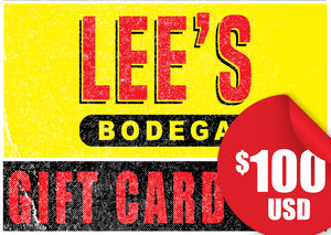 Lee's Bodega-$100 Gift Card