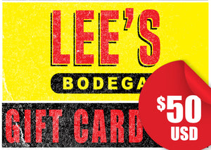 Lee's Bodega-$50 Gift Card