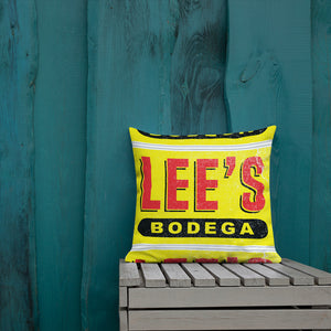 Lee's Bodega Premium Pillow
