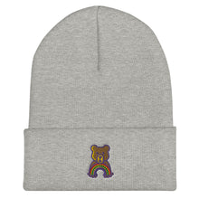 Load image into Gallery viewer, Rainbow Teddy Cuffed Beanie