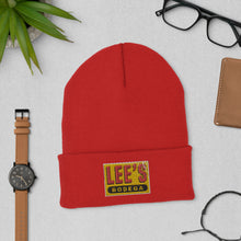 Load image into Gallery viewer, Lee's Bodega Cuffed Beanie