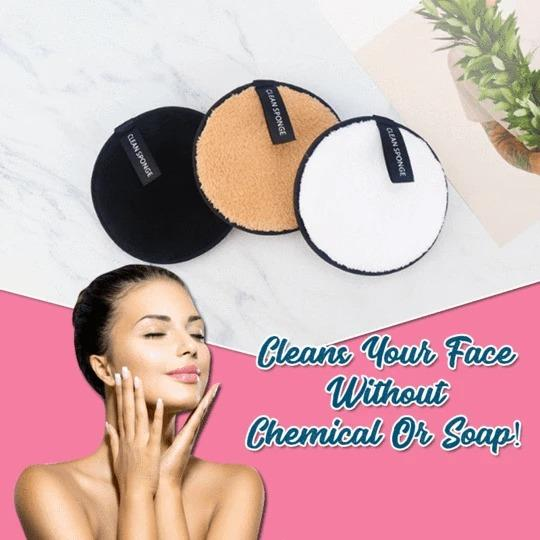 Deep-Clean Makeup Removal Sponge
