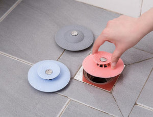 Silicone floor drain for kitchen bathroom