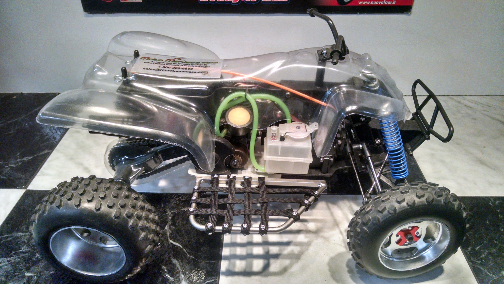 NUOVA FAOR ATV FEATURING RCMM RACING PACKAGE