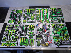 Monster Energy 2pc Stickers