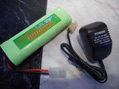 7.2V 3800mAh Ni-Mh rechargeable battery pack+ Charger