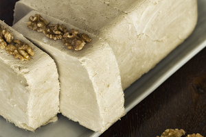 Pecan White Chocolate Halva